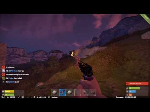 Playing rust with the mentally handicapped