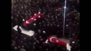 KAHRAMAN ŞEHİT FETHİ SEKİN' İ İZMİR ADLİYESİ ÖNÜNDE UĞURLANDI