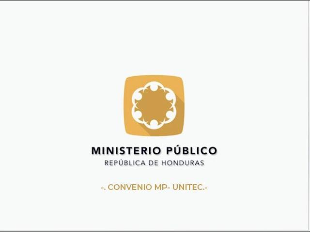 #MP Convenio MP / Unitec