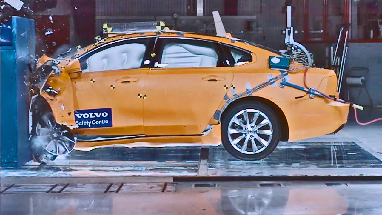 volvo s90 2017 crash test youtube. Black Bedroom Furniture Sets. Home Design Ideas