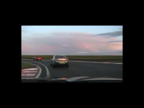 Mazda RX-8 - Bedford Audodrome Crash
