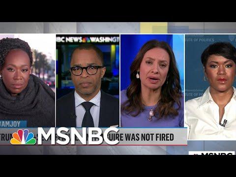 Trump Accused Of 'Politicizing Public Servants' Over DNI Firing | MSNBC