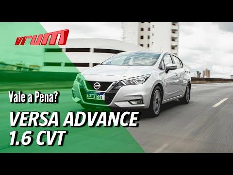 Nissan Versa Advance 1.6: Vale pagar mais de R$100 mil?