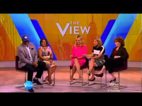 Chandra Wilson & James Pickens Jr. on The View [May 14th, 2015]