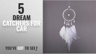 Top 10 Dream Catchers For Car [2018 ]: Mini White Dream Catcher For Car Rear View Mirror Accessories