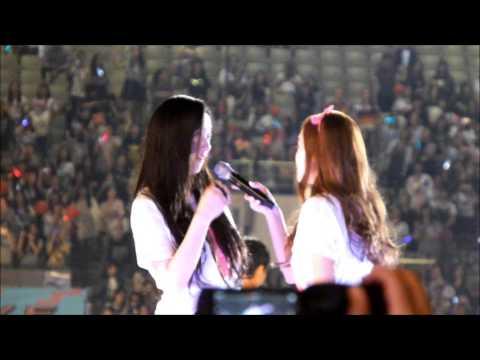 (fancam) 140815 SMTOWN Seoul Ending ' JESSICA & KRYSTAL ' #jungsisters #jek #snsd #fx #taeyeon