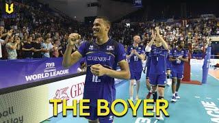 Stephen Boyer | Spiker of France Volleyball