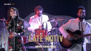 LATE MOTIV - Eva Amaral y la Banda De Late Motiv. 'Space Oddity'    #Latemotiv170
