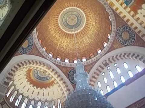 Líbano  Lebanon  Beirut  Interior mezquita Mohhamed al Amin  Inside mosque  2016