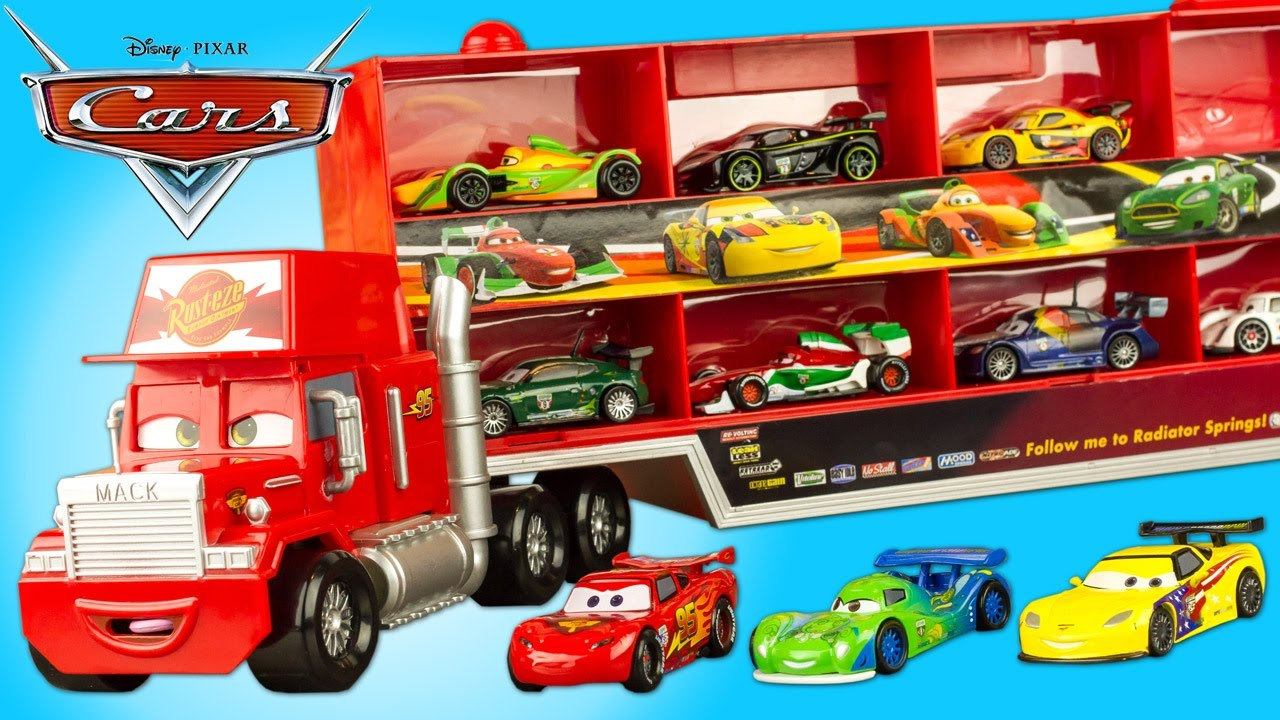 disney cars mack truck hauler camion transporteur disney. Black Bedroom Furniture Sets. Home Design Ideas
