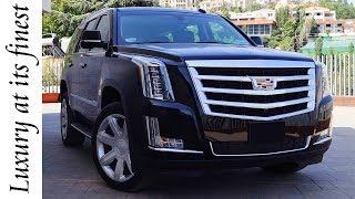 Review: 2017 Cadillac Escalade | Full Interior & Exterior Details