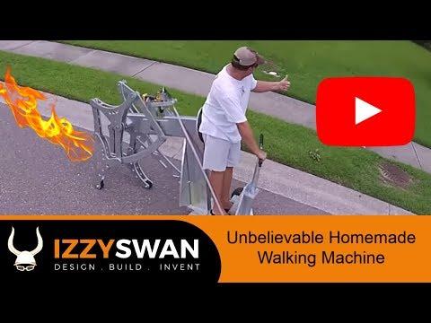 Craziest Homemade Walking Machine