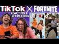 أغنية TIK TOK x FORTNITE EMOTE ROYALE CONTEST! FGTEEV Reacting & Recreating Unique Dances