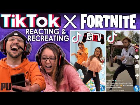 tik-tok-x-fortnite-emote-royale-contest!-fgteev-reacting-&-recreating-unique-dances