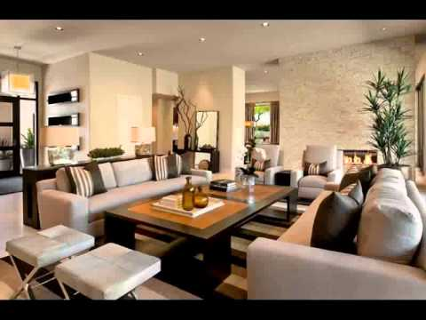 living room ideas rustic Home Design 2015 - YouTube