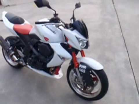 Superbike Kawasaki Z1000 2008 Used Bike - YouTube
