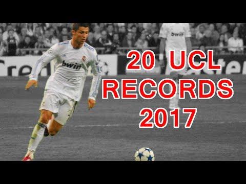 Cristiano Ronaldo's 20 UEFA Champions League Records
