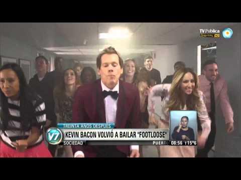 "Visión 7: Kevin Bacon volvió a bailar ""Footloose"""