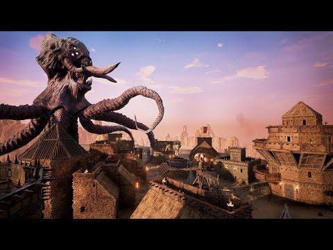 Conan Exiles: плюсы и минусы режима PVE-конфликт. Благотворительный стрим!!!