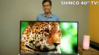 "Shinco 40"" FHD Smart TV Review!"