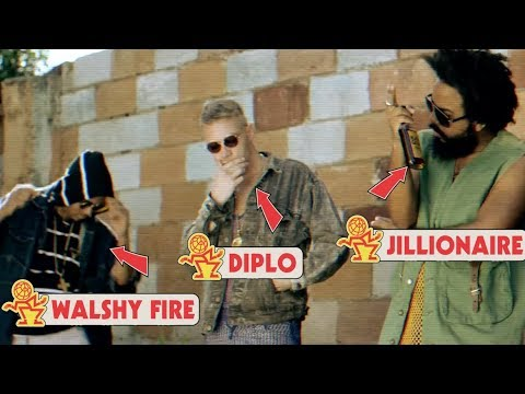 Major Lazer - Watch Out For This Bumaye ft Busy Signal The Flexican & FS Green Pop-Up