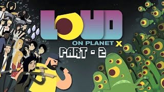 Loud On Planet X Android iOS Gameplay Walkthrough Part 2 - Cadence Weapon: Sharks