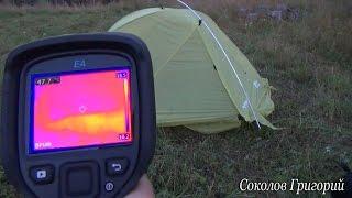 Обогрев палатки биотермическим способом