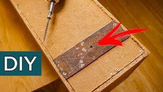 Как подвесить полочку на невидимые навесы? 3 самых простых способа. Секреты старых мастеров.