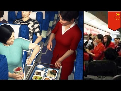 Thumbnail: Chinese manners fail: attacks stewardess, threatens to blow up plane over instant noodles