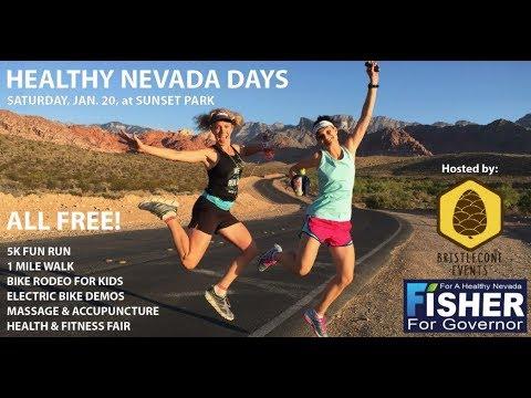 Healthy Nevada Days Free 5K Fun Run/1 Mile Fitness