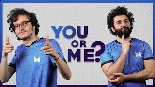 You or Me? With Gh and Miracle-
