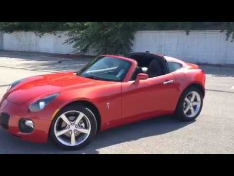 SOLD 2009 Pontiac Solstice GXP Coupe by Ross Barclay with Lockhart Preferred Pre Owned in INDY!