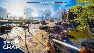 Battlefield V New GAMEPLAY - Rotterdam First Look! [GeForce RTX] | The Tech Chap