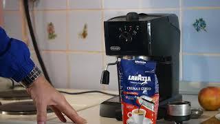 Кофеварка рожковая De'Longhi EC 145 качественный эспрессо за МИН деньги.(, 2017-10-22T10:57:12.000Z)