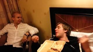 Knutsson loves burgers