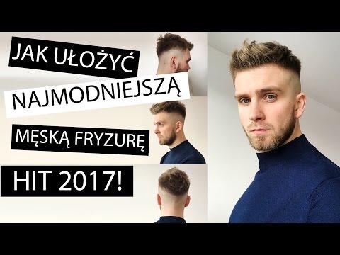 Układanie Włosów Krótka Męska Fryzura Hit Sezonu Youtube