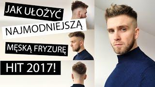 Układanie włosów  - krótka męska fryzura HIT sezonu