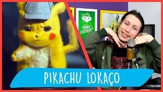 REACT DETETIVE PIKACHU - PÉ NO SACO Trailer (Paródia) VOICE MAKERS