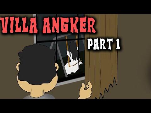 Penunggu Villa Angker Part 1 | Animasi Horor Kartun Lucu | Warganet Life