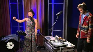 Sylvan Esso performing 'H.S.K.T.' Live on KCRW