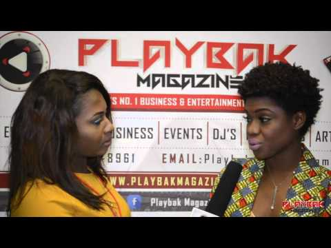 Becca Interview With Playbak Magazine At GMW Festival