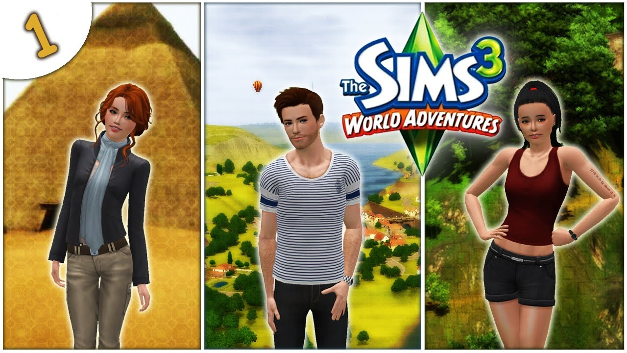 let 39 s play the sims 3 world adventures part 1 meet roxie eric and millie youtube