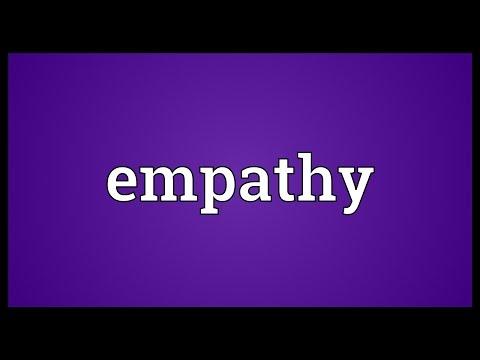 Antedating definition of empathy