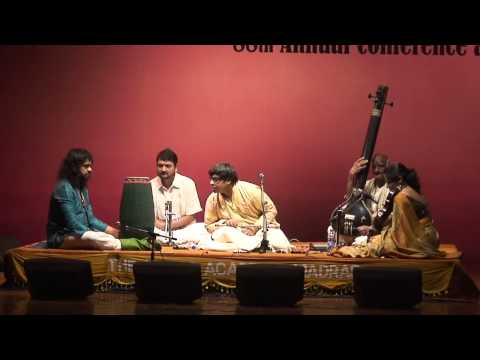 Raga Kamboji - Shashank Subramanyam at The Music Academy