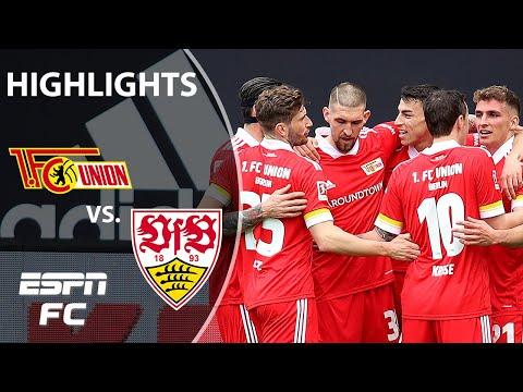 Union Berlin keeps UEL hopes alive with 2-1 win vs. Stuttgart | ESPN FC Bundesliga Highlights