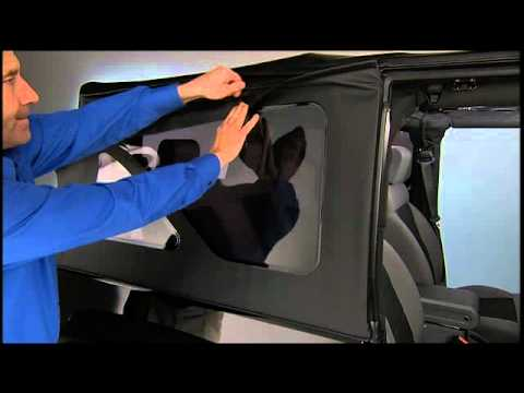 2012 Jeep Wrangler Sunrider Soft Top Expanded Youtube