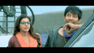 10 endrathukulla tamil movie scenes samantha decides to travel with vikram rahul dev intro