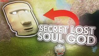 DEFEATING THE SECRET LOST SOUL GOD in BOOGA BOOGA! (ROBLOX)
