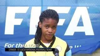 CONCACAF Women's Under 20 Championships, Caribbean Zone, Group 2   Team Saint Lucia   Lyla Lionel