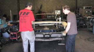 Installing One Piece Trunk Panel 1972 Chevelle